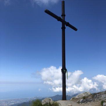 vetta pania della croce