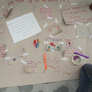 educazione ambientale cartellone